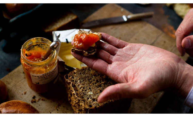 Fresh bread for dinner…toast for breakfast