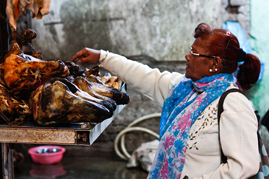 INA Market, no apto para vegetarianos