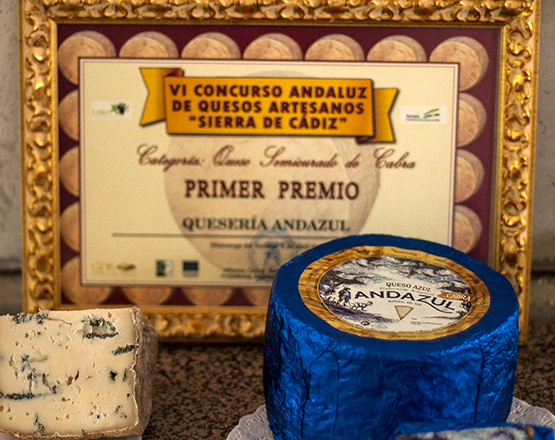 A blue cheese from Andalusia? Yes, and what's more, it's goat!
