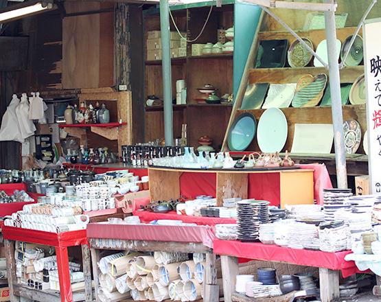 Tableware shop in Tokyo