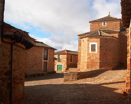 La Maragateria fue uno de los centros chocolateros peninsulares. Foto Castrillo de los Polvazares