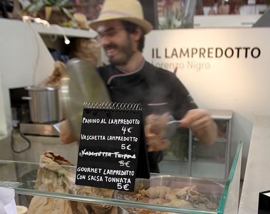 Lampredotto stall at the Central Market
