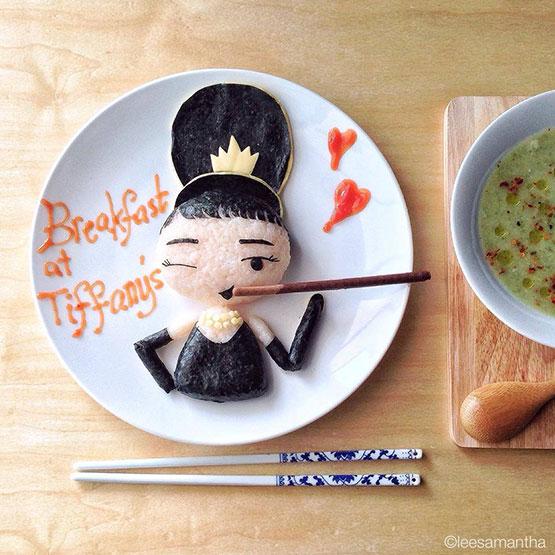 Audry de arroz y algas Samantha Lee Bento