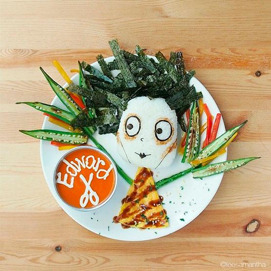 Eduardo Manos Tijeras de algas y arroz