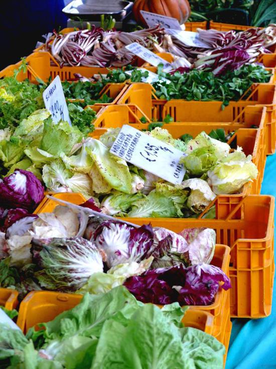 Verduras en Pordenone