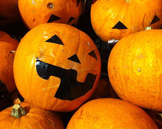 Reciclar calabaza Halloween