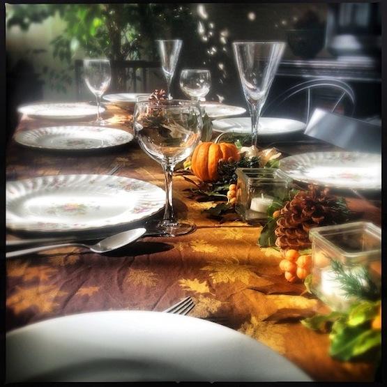 Thanksgiving de verdad
