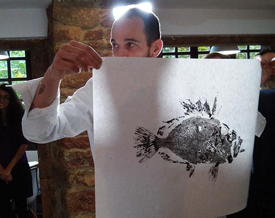 gyotaku Koldo Miranda Avilés