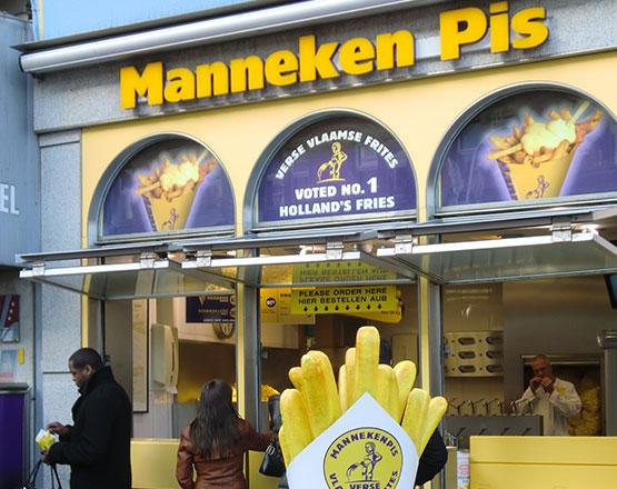 Pequeña Ana Frank: no dijiste que comer en Amsterdam sería esto