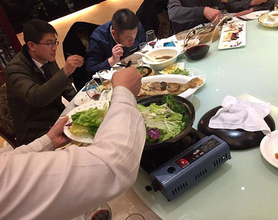 De comidas por china