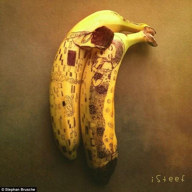 el artista del plátano