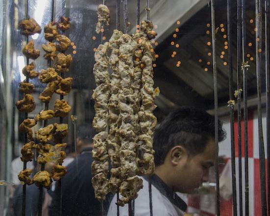 pollo en la india