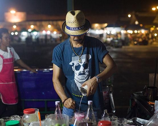 street food tailandés