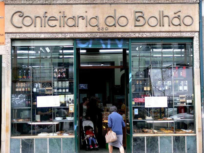 Recorrido Oporto gastronomico Confeitaría do Bolhao