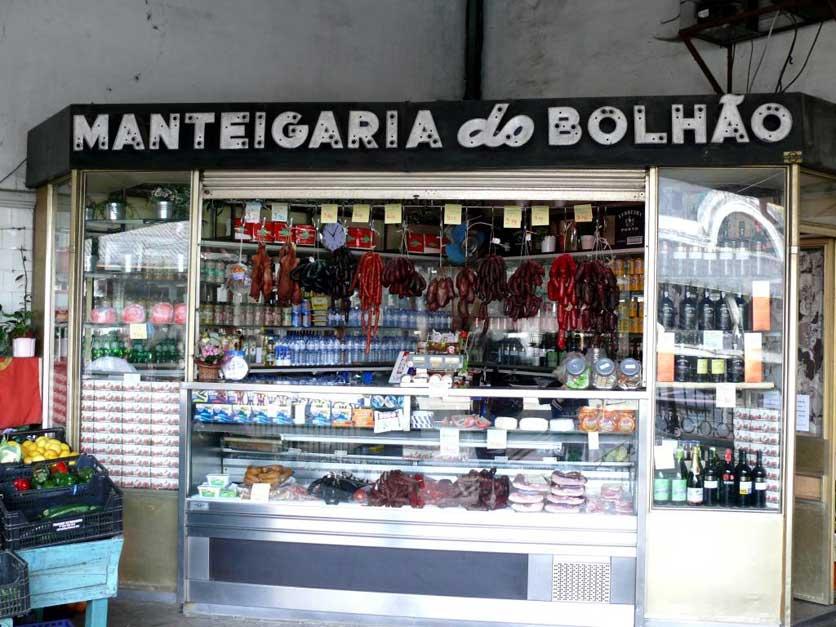 Recorrido Oporto gastronomico Mercado Bolhao