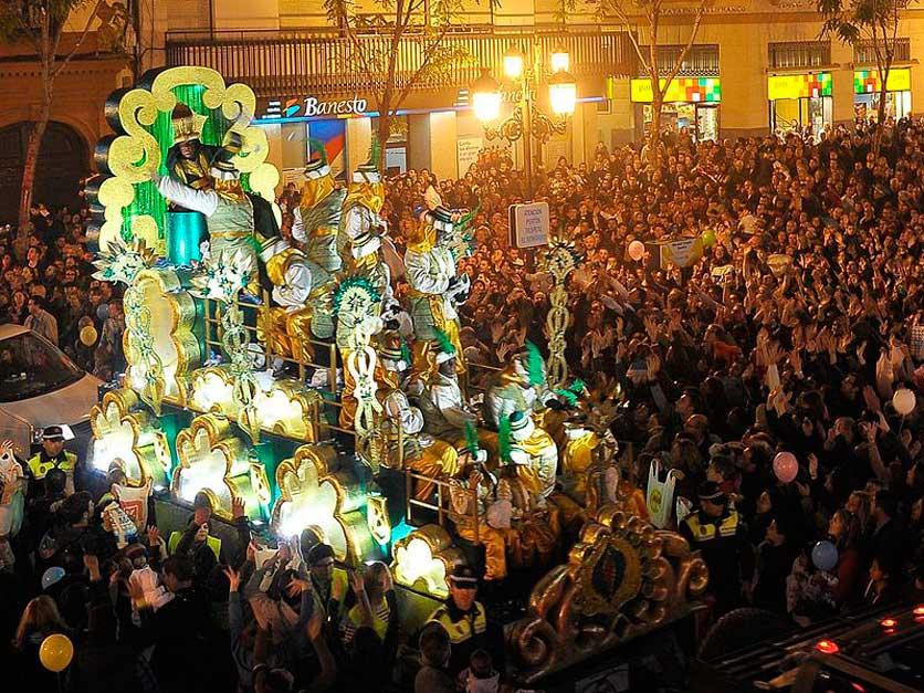 Cabalgata Reyes Sevilla