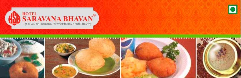 Saravana Bhavan Restaurantes
