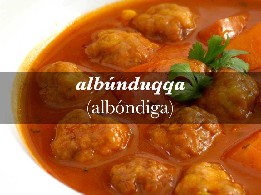 cocina andalusí albóndigas