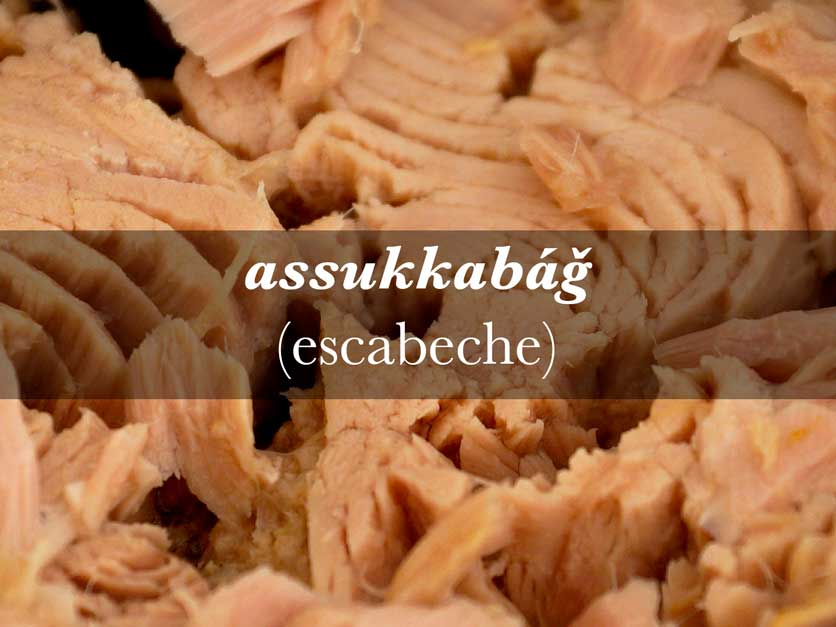 Cocina andalusí escabeche