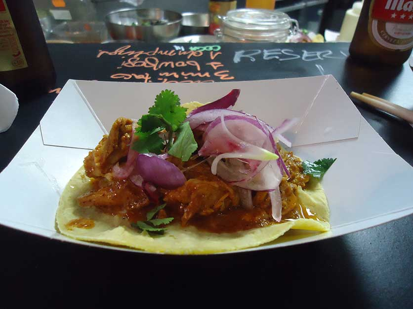 kitchen 154 tacos cochinita