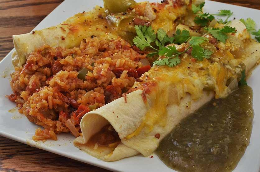 platos más picantes de mexico enchiladas