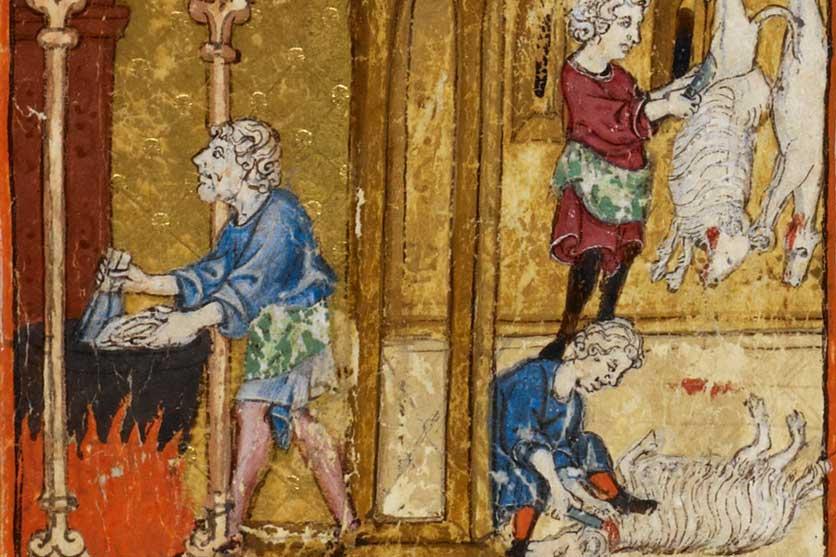 Los fogones sefarad sacrificio carneros